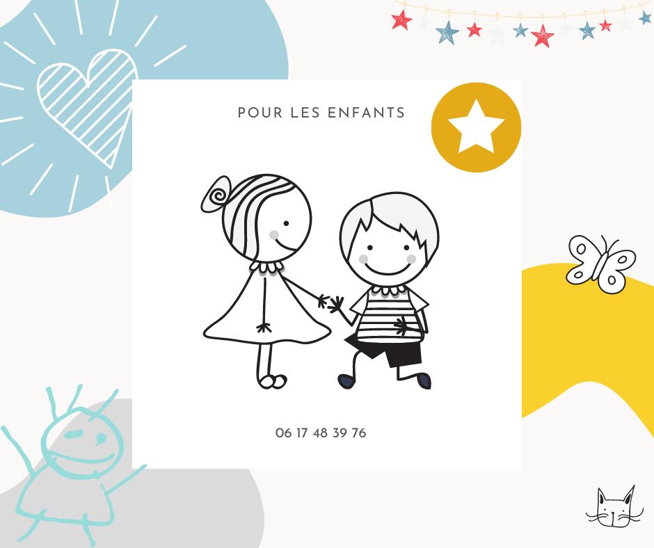 Sophrologie pour enfants avec dessins